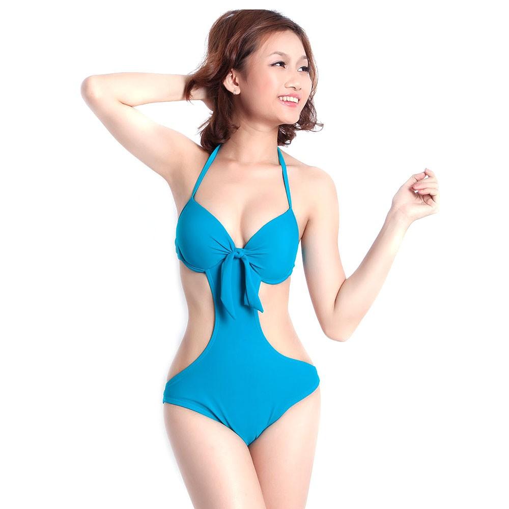 Vòng một sẽ trở nên đẫy đà hơn với kiểu bikini thắt nơ phía trước