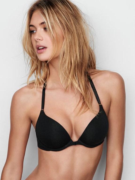 Áo ngực 1 dây Victoria secret màu đen đẹp hấp dẫn VS0004